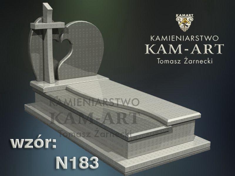 wzór-nagrobka-granitowego-kamieniarstwo-Kraków-183