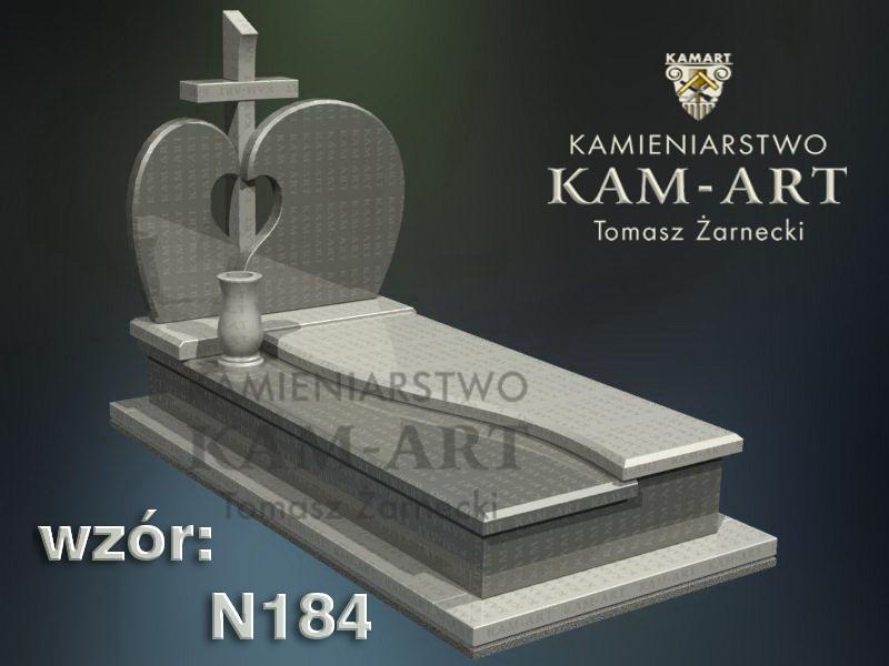 wzór-nagrobka-granitowego-kamieniarstwo-Kraków-184