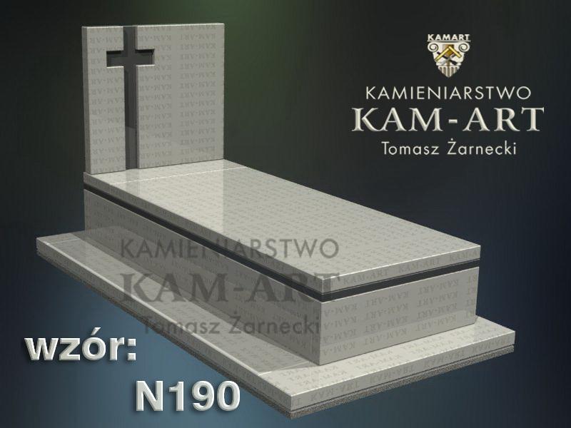 wzór-nagrobka-granitowego-kamieniarstwo-Kraków-190