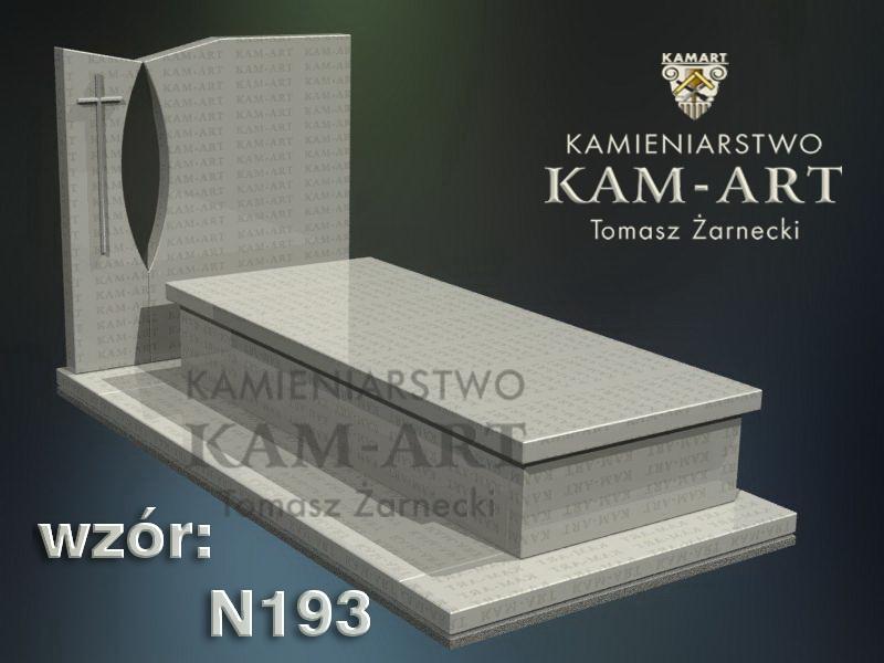 wzór-nagrobka-granitowego-kamieniarstwo-Kraków-193