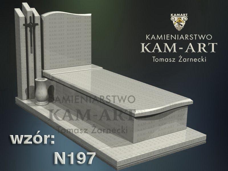 wzór-nagrobka-granitowego-kamieniarstwo-Kraków-197