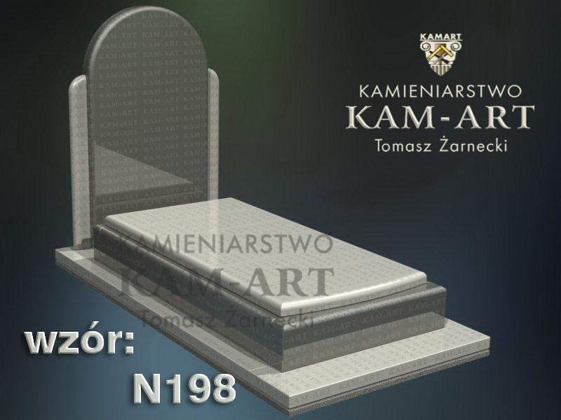 wzór-nagrobka-granitowego-kamieniarstwo-Kraków-198