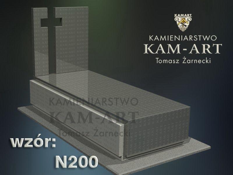 wzór-nagrobka-granitowego-kamieniarstwo-Kraków-200