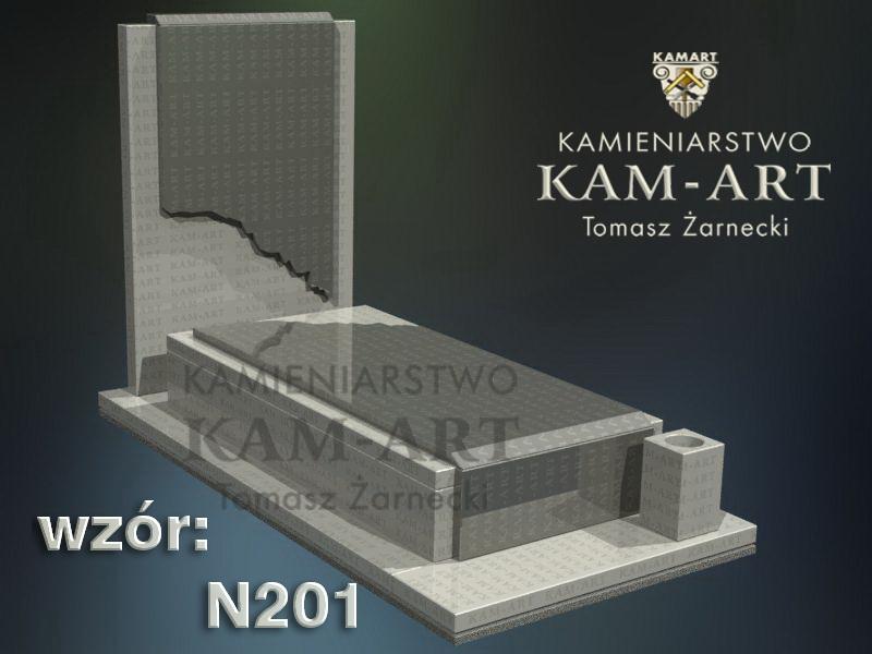 wzór-nagrobka-granitowego-kamieniarstwo-Kraków-201