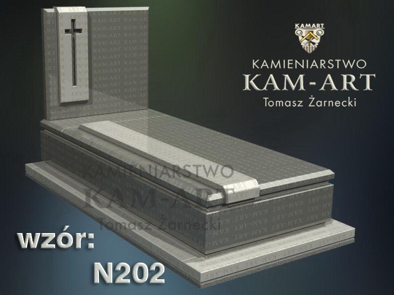 wzór-nagrobka-granitowego-kamieniarstwo-Kraków-202