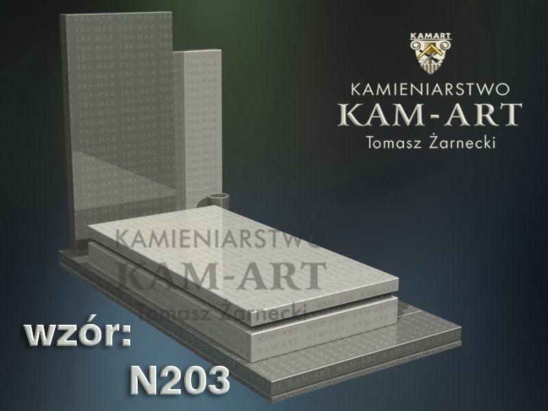 wzór-nagrobka-granitowego-kamieniarstwo-Kraków-203