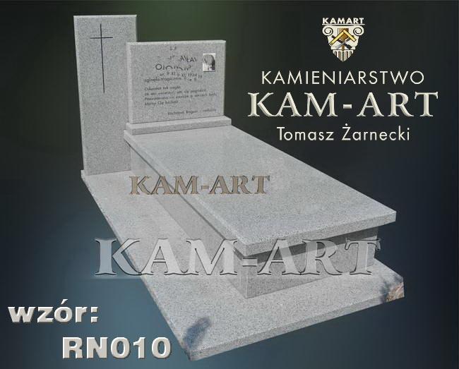 nagrobek na cmentarzu prądnik czerwony z granitu kuru gray white