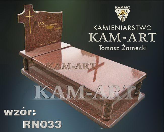 nagrobek z granitu vanga kraków cmentarz Prądnik Czerwony Batowice