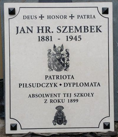 tablica pamiątkowa Krakow