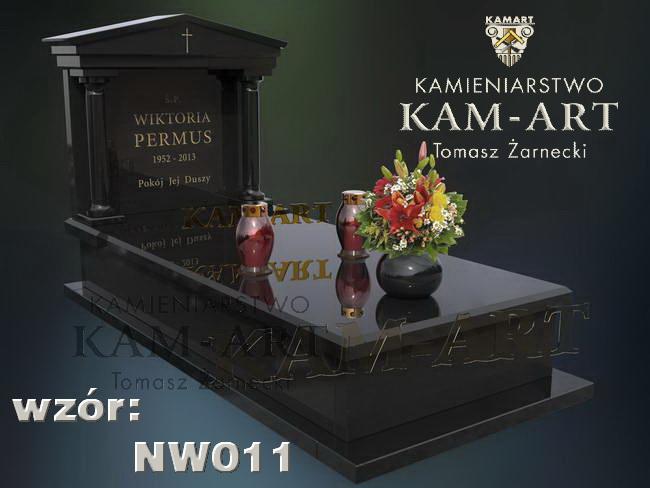 projekt nagrobka granitowego w Krakowie