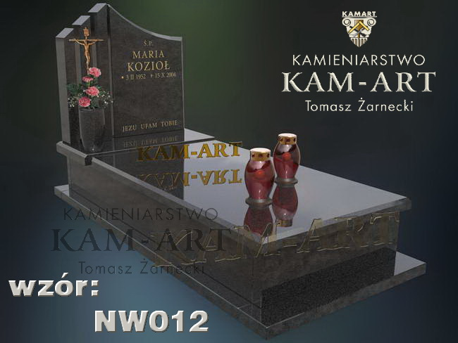 nagrobek impala projekt Kraków Batowice