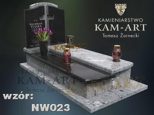 nagrobek z wicont White na cmentarz Rakowicki w Krakowie
