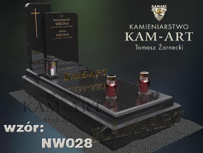 nagrobek granitowy na cmentarz w Krakowie