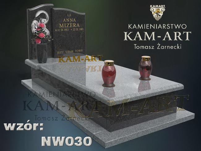 projekt nagrobka Kraków cmentarz Podgórski