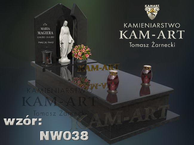 nagrobek z rzeźbą Kraków Grębałów