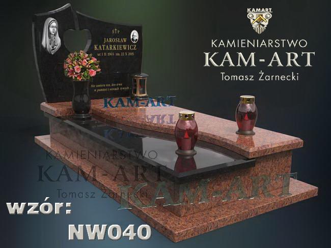 projekt nagrobka Kraków Grębałów