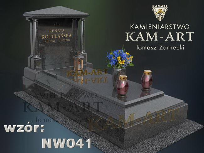 nagrobek tradycyjny na cmentarz w Krakowie