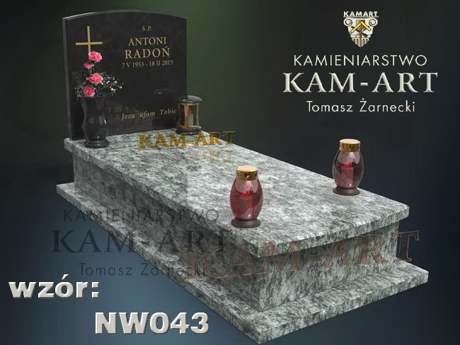 Kraków Rakowice projekt nagrobka