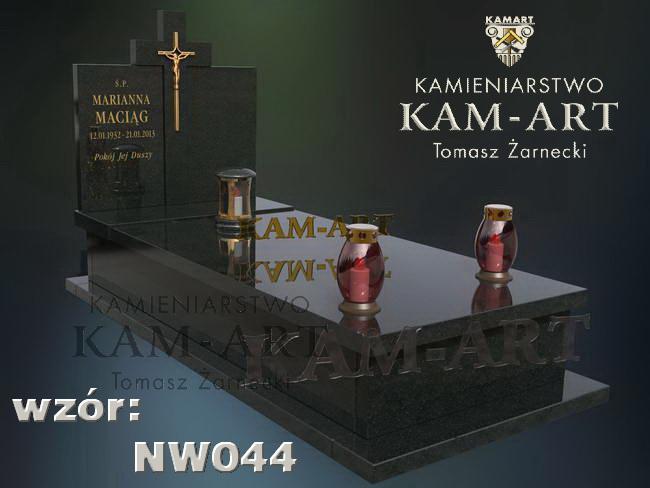 projekt nagrobka Kraków zielonki