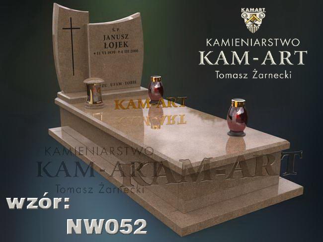 projekt nagrobka Kraków Prądnik Czerwony