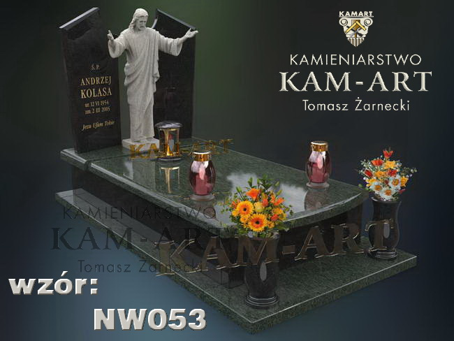 nagrobek z rzeźbą do Krakowa