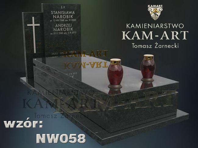 nowoczesny nagrobek na cmentarz rakowicki Kraków