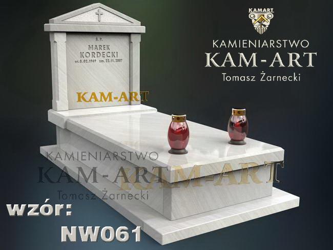 nagrobek z piaskowca jasnego Kraków Prądnik Czerwony