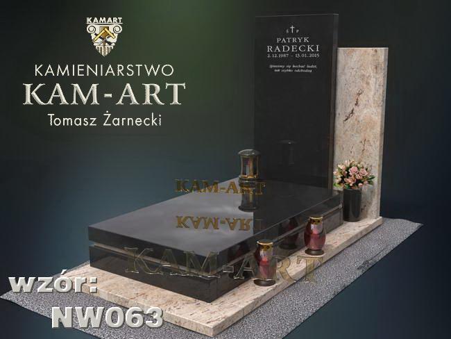 nagrobek naowaczesny Kraków